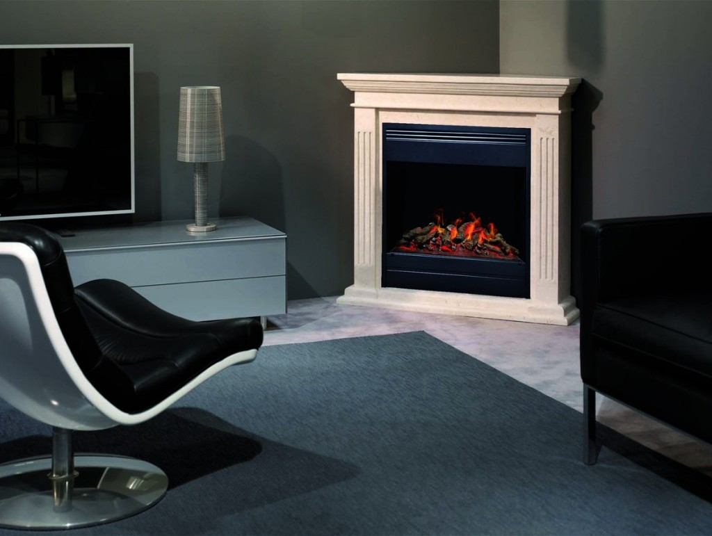 moderne elektro kamine bieten echte feuer romantik aus der steckdose. Black Bedroom Furniture Sets. Home Design Ideas